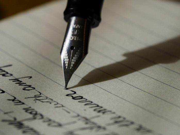 Gegraveerde pen